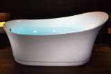 EAGO AM2140 6 Foot White Free Standing Air Bubble Bathtub (AM2140)