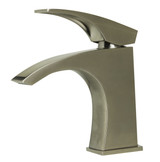 ALFI brand AB1586 Brushed Nickel Single Lever Bathroom Faucet