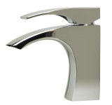 ALFI brand AB1586 Polished Chrome Single Lever Bathroom Faucet