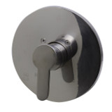 ALFI brand AB3001-BN Brushed Nickel Shower Valve Mixer with Rounded Lever Handle