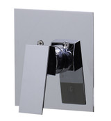 ALFI brand AB5501-PC Polished Chrome Shower Valve Mixer with Square Lever Handle
