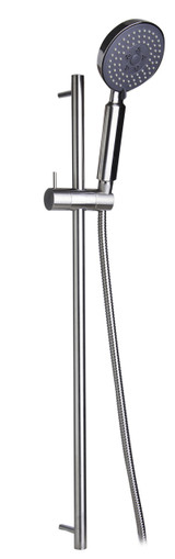 ALFI brand AB7938-BN Brushed Nickel Sliding Rail Hand Held Shower Head Set with Hose