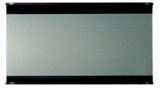 Whitehaus AEM100T Aeri Wood Frame Rectangular Wall Mount Mirror with Wood Shelf.