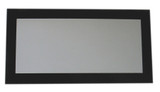 Whitehaus WHE19NG Aeri Rectangular Shaped Mirror with Laminated Glass Frame (WHE19NG)