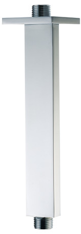 "ALFI brand AB9SC-PC Polished Chrome 9"" Modern Square Ceiling Mounted Shower Arm (AB9SC-PC)"