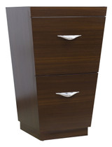 "American Imaginations 20.25"" W x 18"" D Modern Plywood-Melamine Vanity Base Only in Wenge"