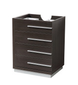 "Fresca Livello 24"" Gray Oak Modern Bathroom Cabinet"
