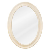 """Clairemont Bath Elements Mirror in Painted Buttercream 24""""W x 32""""H"""