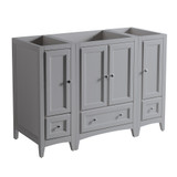 Fresca Oxford 48 Gray Traditional Bathroom Cabinets