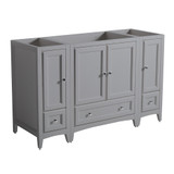 Fresca Oxford 54 Gray Traditional Bathroom Cabinets
