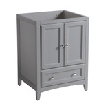 Fresca Oxford 24 Gray Traditional Bathroom Cabinet
