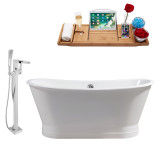 Streamline 67 Faucet and Cast Iron Tub Set | RH5042
