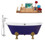 Streamline 67 Faucet and Cast Iron Tub Set | RH5060GLD