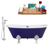 Streamline 67 Faucet and Cast Iron Tub Set | RH5060WH