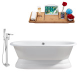 Streamline 66 Faucet and Cast Iron Tub Set | RH5080