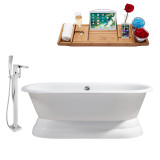 Streamline 60 Faucet and Cast Iron Tub Set | RH5081