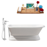 Streamline 66 Faucet and Cast Iron Tub Set | RH5140