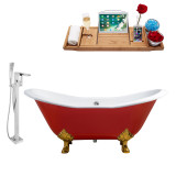 Streamline 61 Faucet and Cast Iron Tub Set | RH5161GLD