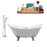 Streamline 72 Faucet and Cast Iron Tub Set | RH5162CH