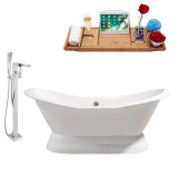 Streamline 72 Faucet and Cast Iron Tub Set | RH5180