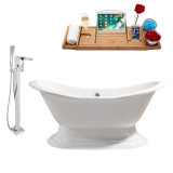 Streamline 72 Faucet and Cast Iron Tub Set | RH5200