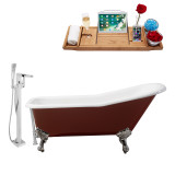 Streamline 66 Faucet and Cast Iron Tub Set | RH5280CH