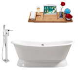 Streamline 71 Faucet and Cast Iron Tub Set | RH5300
