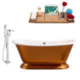 Streamline 66 Faucet and Cast Iron Tub Set | RH5340