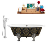 Streamline 65 Faucet and Cast Iron Tub Set | RH5440CH