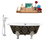 Streamline 65 Faucet and Cast Iron Tub Set | RH5440WH