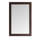 Fresca Greenwich 20 Antique Coffee Traditional Bathroom Mirror