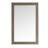 Fresca Greenwich 20 Antique Silver Traditional Bathroom Mirror