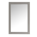 Fresca Hartford 20 Gray Traditional Bathroom Mirror