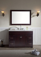 "49"" Single Sink Vanity Set In Espresso"
