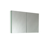 "FMC8010 | Fresca 40"" Wide Bathroom Medicine Cabinet w/ Mirrors"