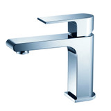FFT9151CH | Fresca Allaro Single Hole Mount Bathroom Vanity Faucet - Chrome