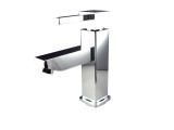 FFT1030CH | Fresca Bevera Single Hole Mount Bathroom Vanity Faucet - Chrome