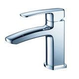 FFT9161CH | Fresca Fiora Single Hole Mount Bathroom Vanity Faucet - Chrome