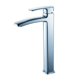 FFT9162CH | Fresca Fiora Single Hole Vessel Mount Bathroom Vanity Faucet - Chrome