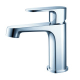 FFT9131CH | Fresca Gravina Single Hole Mount Bathroom Vanity Faucet - Chrome