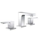 FFT3801CH   Fresca Sesia Widespread Mount Bathroom Vanity Faucet - Chrome white background