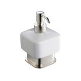 FAC1361BN | Fresca Solido Lotion Dispenser (Free Standing) - Brushed Nickel