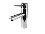 FFT1040CH | Fresca Tartaro Single Hole Mount Bathroom Vanity Faucet - Chrome