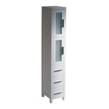 FST6260WH | Fresca Torino White Tall Bathroom Linen Side Cabinet