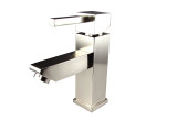 FFT1030BN | Fresca Versa Single Hole Mount Bathroom Vanity Faucet - Brushed Nickel