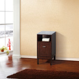 Bellaterra Home 7711-SW | 16 in Cabinet-wood-sable walnut