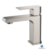 FFT9151BN | Fresca Allaro Single Hole Mount Bathroom Vanity Faucet - Brushed Nickel