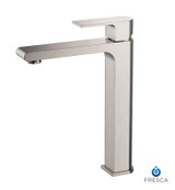 FFT9152BN | Fresca Allaro Single Hole Vessel Mount Bathroom Vanity Faucet - Brushed Nickel