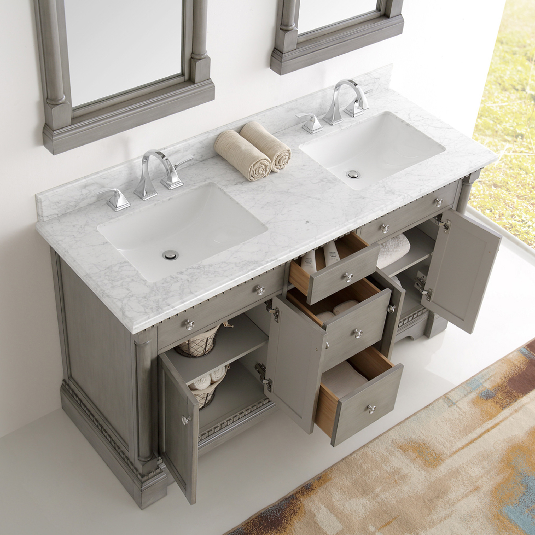 Countertops Compared: Top 5 Materials to Top off A Bathroom Vanity
