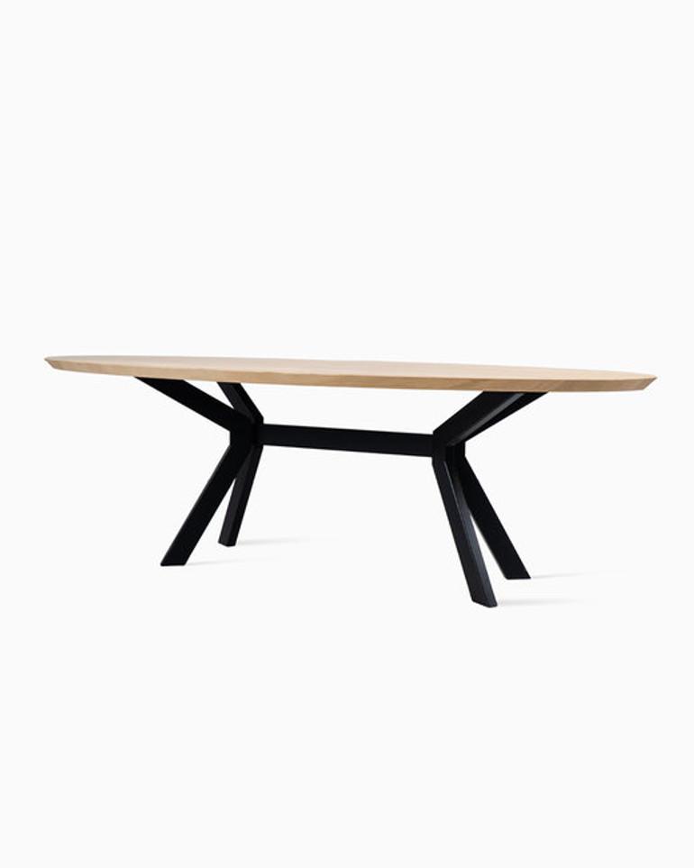 Albert ellipse dining table